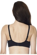Noppies Black cotton jersey nursing bra