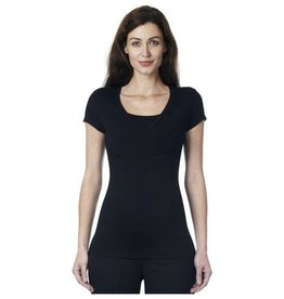 Noppies Lely Black nursing t-shirt