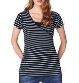 Noppies Noppies Lely Blue Striped nursing t-shirt