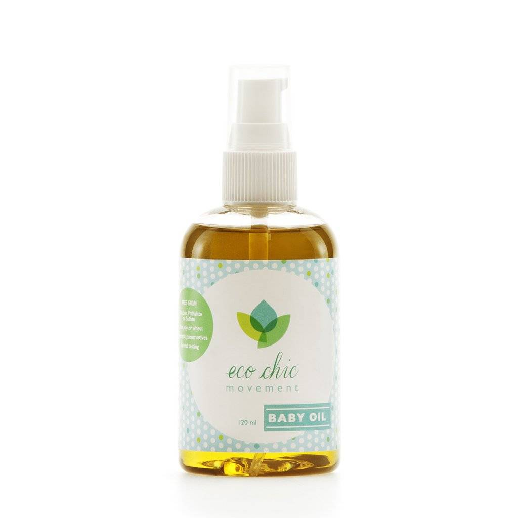 Eco Chic Movement Baby Massage Oil