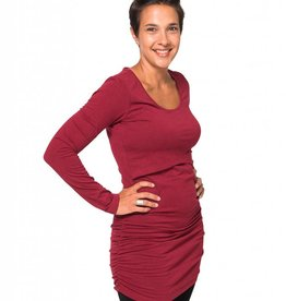 Momzelle Momzelle Molly tunic Heather Red
