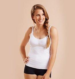 Cantaloop White nursing bra camisole