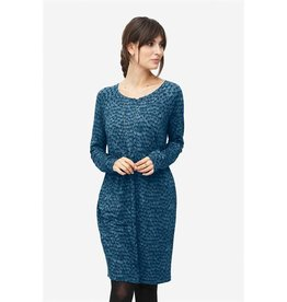 Milker Milker Blue patterned dress