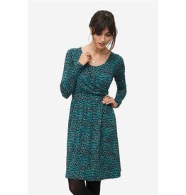 Milker Milker Zulu green print dress