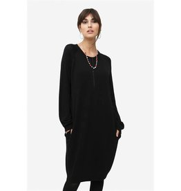 Milker Milker Chloe black relaxed nursing dress