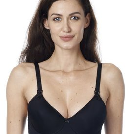Honolulu Black padded bra D cup to G cup