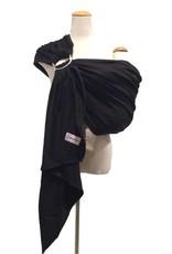 Maman Kangourou Woven Ring Sling - Black