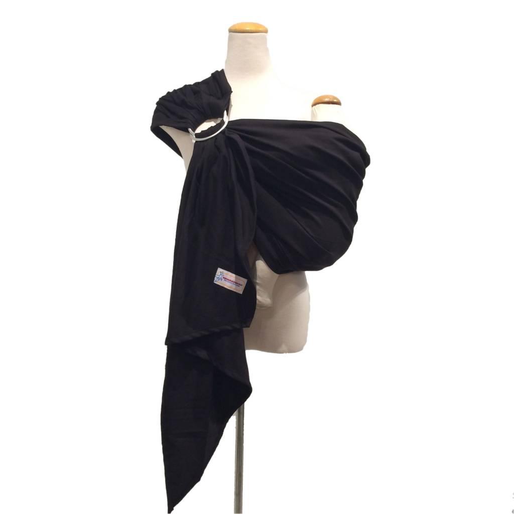 Maman Kangourou Inc Maman Kangourou Woven Ring Sling - Black