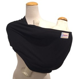 Stretchy Pouch baby carrier - Black