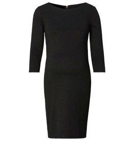 Black Maternity Sheath Dress