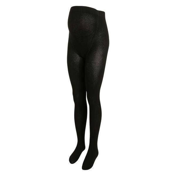 Noppies Noppies Black cotton maternity tights