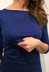 Ursa Mama boatneck nursing top