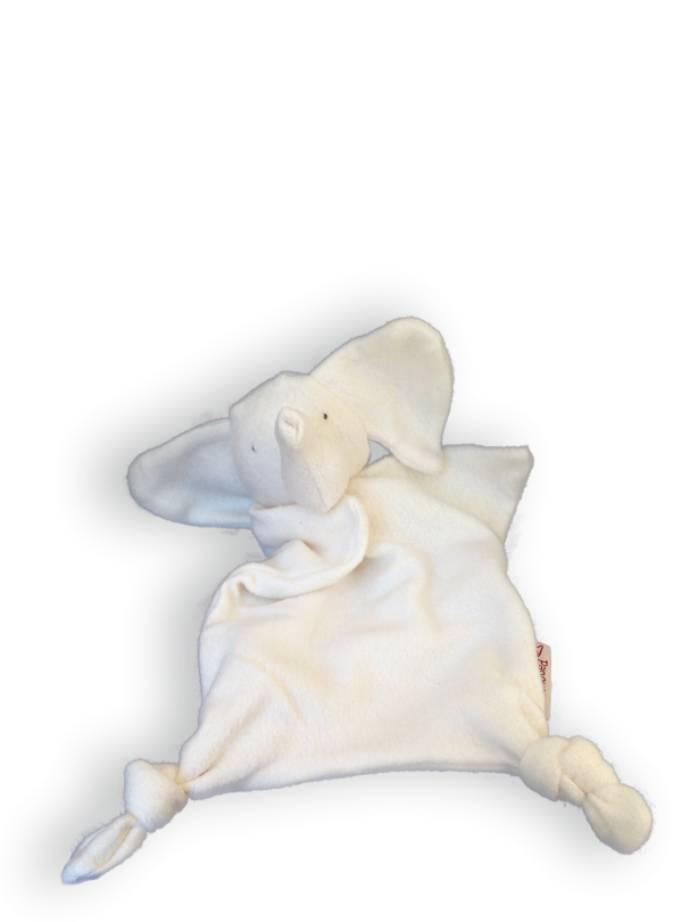 Papoum organic elephant lovey toy
