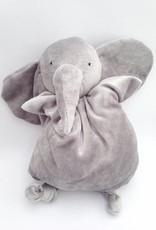 Papoum-Papoum Papoum grey elephant soft toy