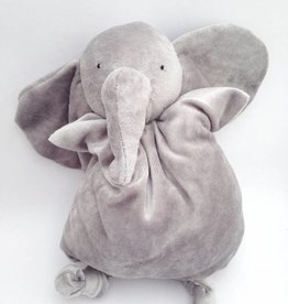 Papoum-Papoum Papoum grey elephant soft toy