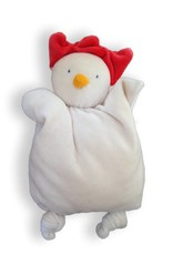 Papoum chicken soft baby toy