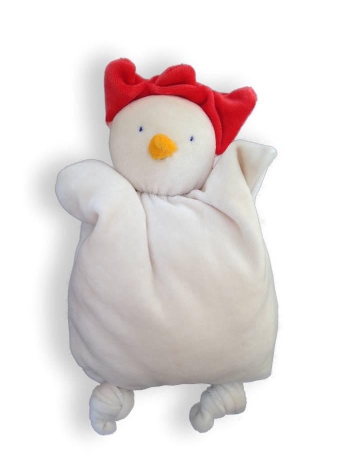 Papoum-Papoum Papoum chicken soft baby toy