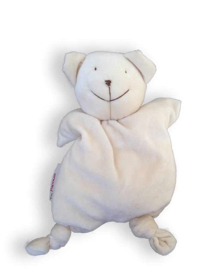 Papoum-Papoum Papoum Polar bear soft toy