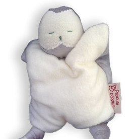 Papoum snowy owl soft toy