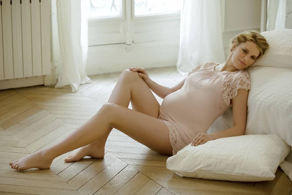 Sofia lace short & tee pyjama Petal
