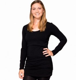 Momzelle Molly tunic in Black