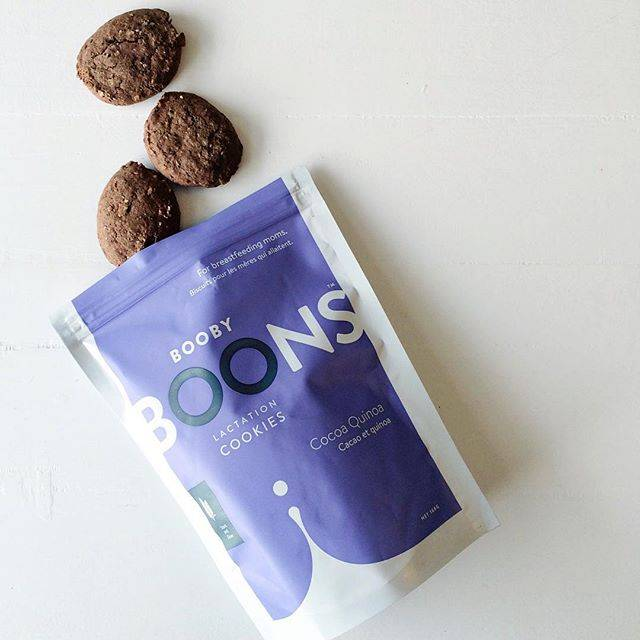 Stork and Dove Booby Boons Cocoa Quinoa Lactation Cookies