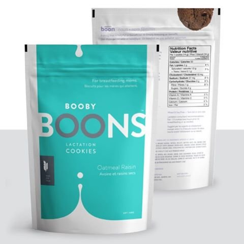 Stork and Dove Booby Boons Oatmeal Raisin Lactation Cookies