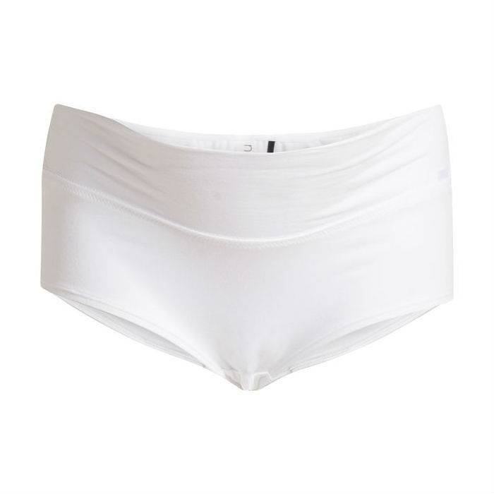 Cotton White boy short
