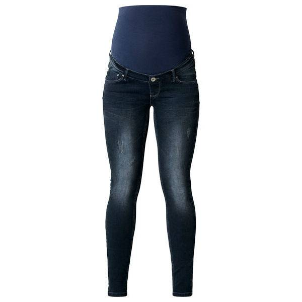 Britt overbelly Skinny distressed jeans