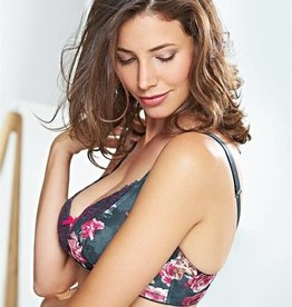 Florence Teal nursing bra F cup to K cup