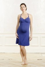 Cache Coeur Serenity nursing maternity nightdress in Royal Blue