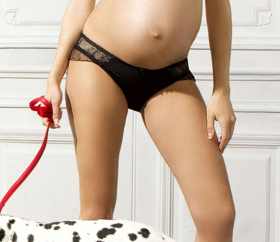 Cache Coeur Opera maternity brief