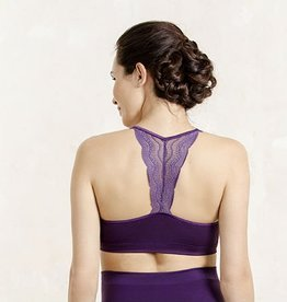 Serenity lace bralet in Royal Purple B cup to F cup