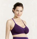 Cache Coeur Cache Coeur Serenity lace maternity nursing bralet in Royal Purple