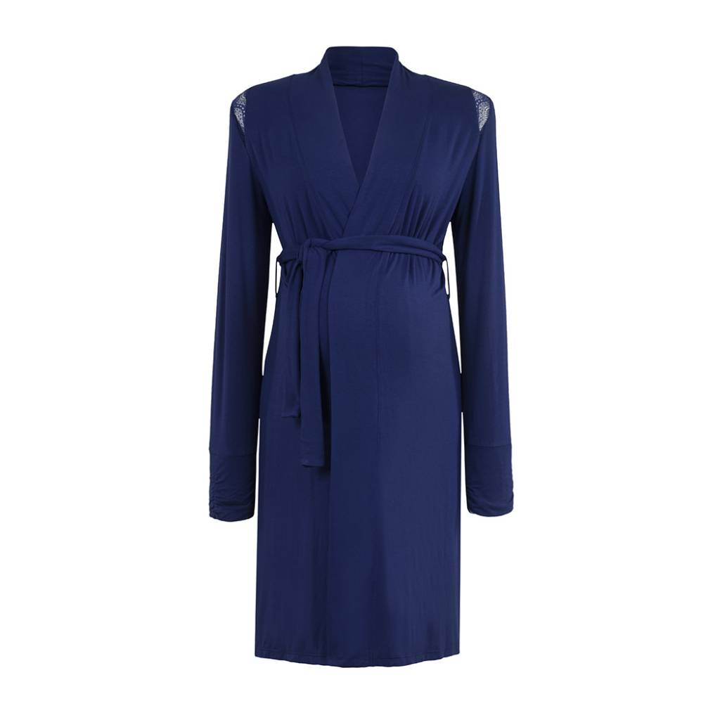 Cache Coeur Cache Coeur Serenity Robe in Royal blue