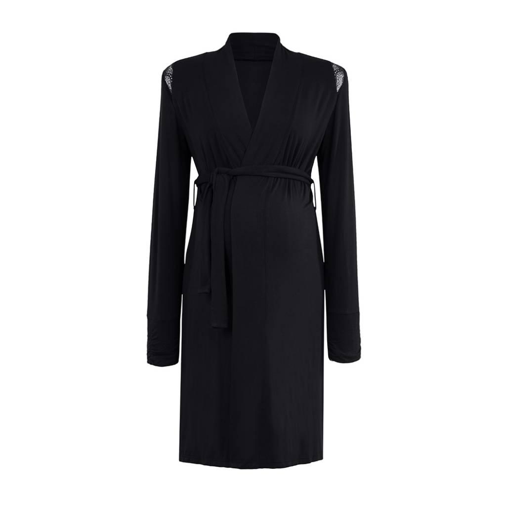 Cache Coeur Cache Coeur Serenity Robe in Black