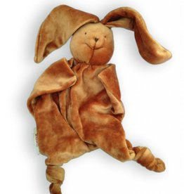 Papoum-Papoum Papoum Brown Bunny lovey toy
