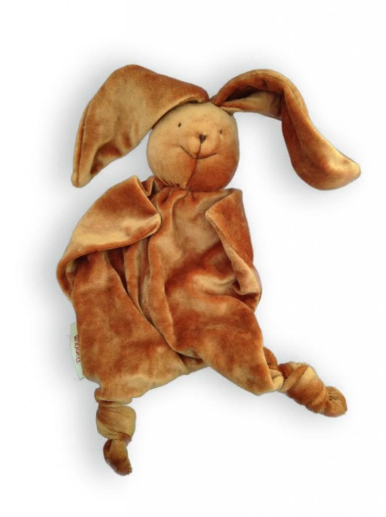 Papoum-Papoum Papoum Brown Bunny lovey toy