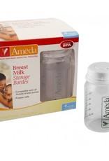 Ameda Breast Milk Storage Bottles - 4 pack