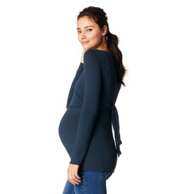 Noppies Olivia navy nursing top