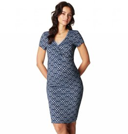 Elisa Patterned Nursing dress
