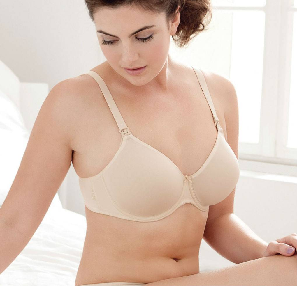 Anita Summer Underwire T Shirt Bra In Powder Evymama
