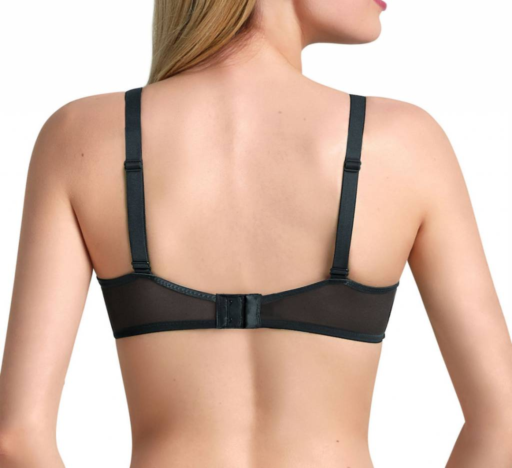 Anita Summer underwire t-shirt bra in Black