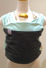 Maman Kangourou Organic Stretchy Wrap - Peppermint