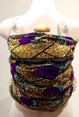 Maman Kangourou Inc Maman Kangourou African Kanga wrap - Orange Grape