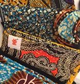 Maman Kangourou Inc Maman Kangourou African Kanga wrap - Africa Blue