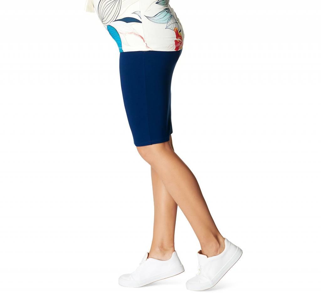 Noppies Noppies Vida maternity pencil skirt in Blue