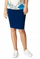 Noppies Noppies Vida maternity 3 in one skirt/dress in Blue