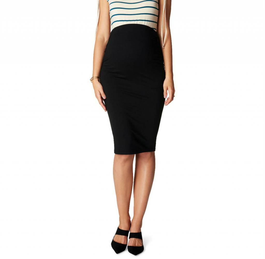 Noppies Noppies Vida maternity pencil skirt in Black
