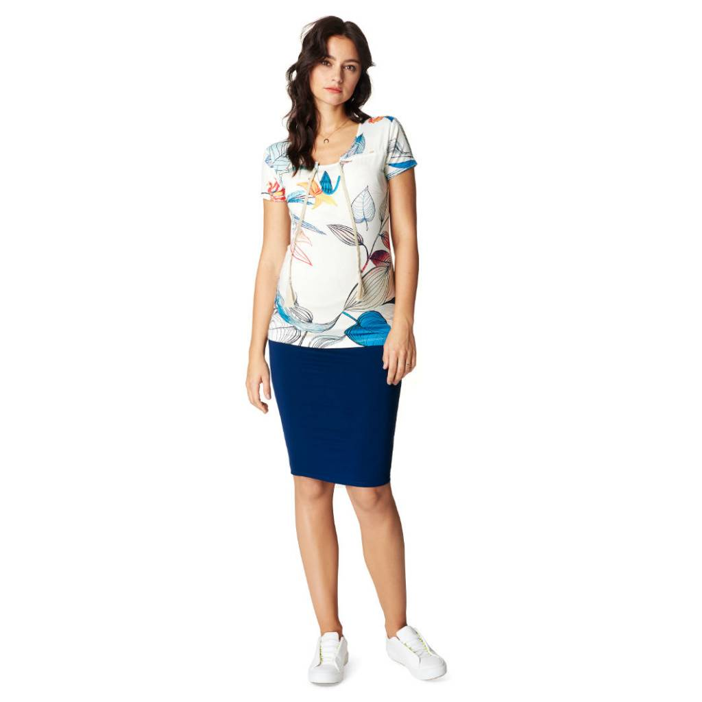 Noppies Noppies Faith Floral nursing and maternity top